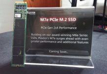 Plextor M7e ssd