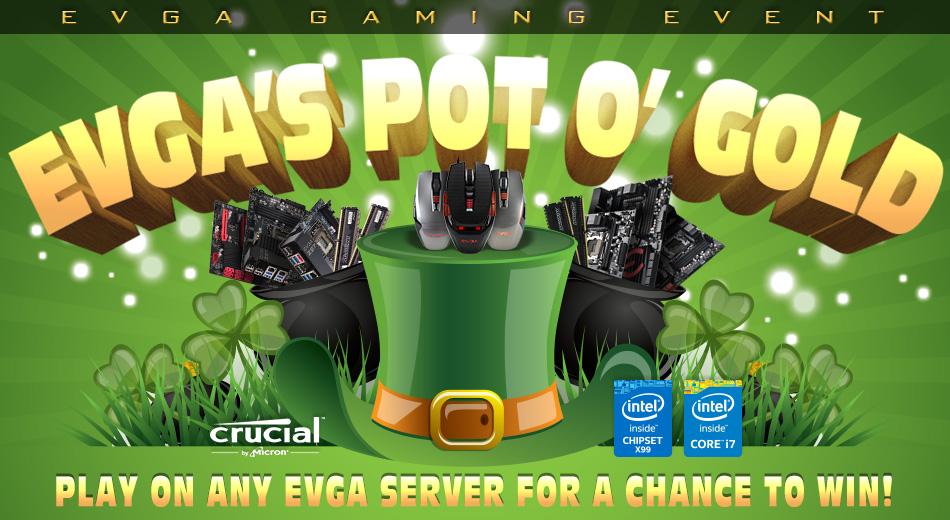 EVGA Pot o'Gold 3