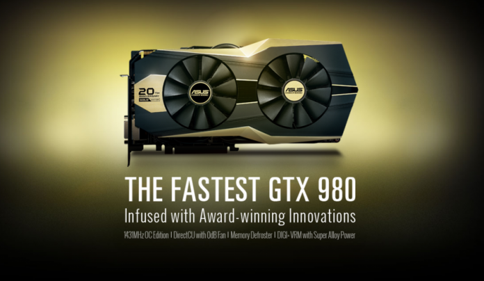 Asus Geforce GTX980