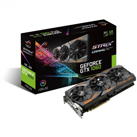Asus Strix GeForce GTX 1060