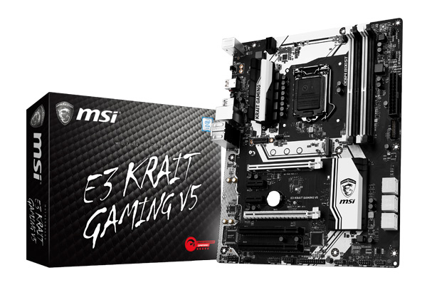 MSI motherboard E3 KRAIT