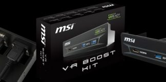 MSI con il VR Boost Kit