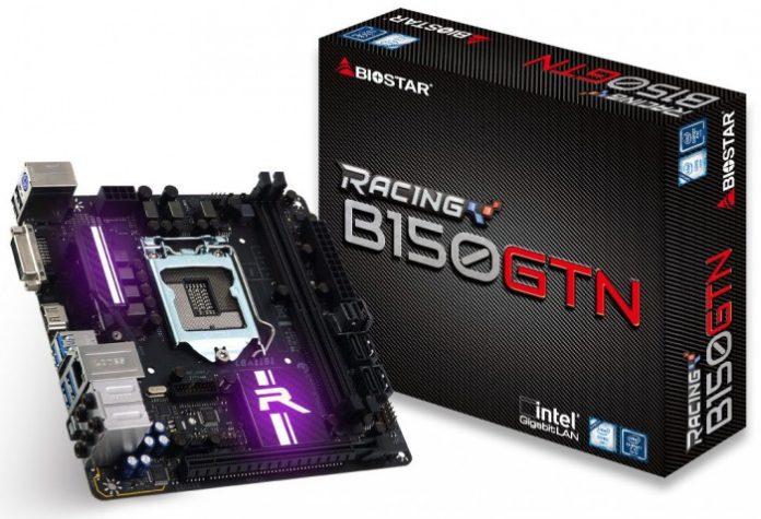 Biostar B150GTN-front
