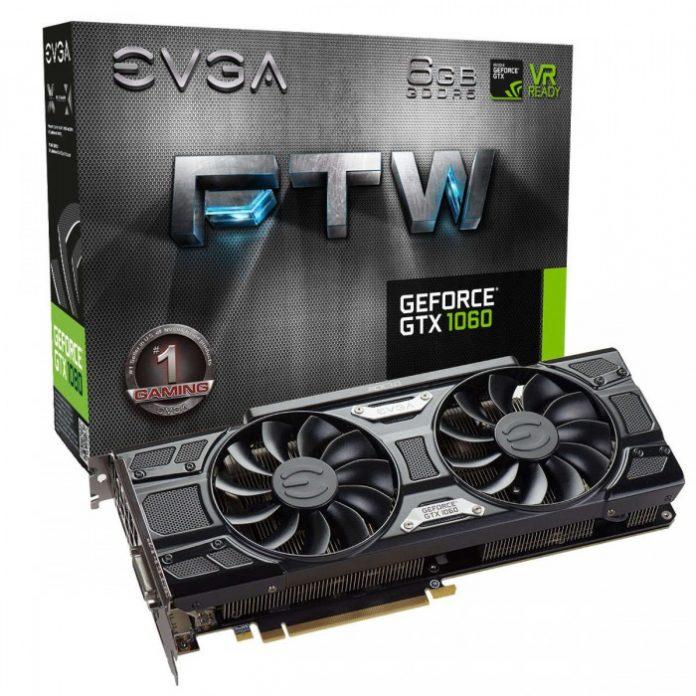 EVGA con la nuova GPU GeForce GTX 1060