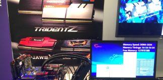 G.SKILL presenta all'IDF del 2016, le memorie RAM da 128 GB, di tipo DDR4-3333MHz CL14