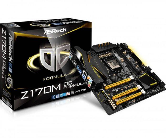 Motherboard ASRock Z170M OC Formula