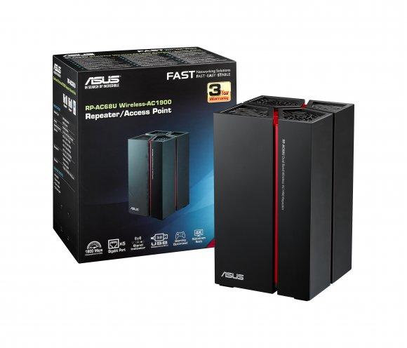 Ripetitore wireless RP-AC68U di Asus