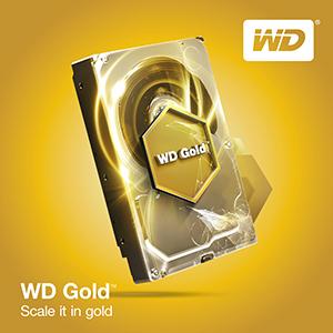 Western Digital con la versione di WD Gold