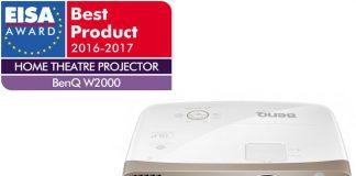 Il videoproiettore BenQ W2000