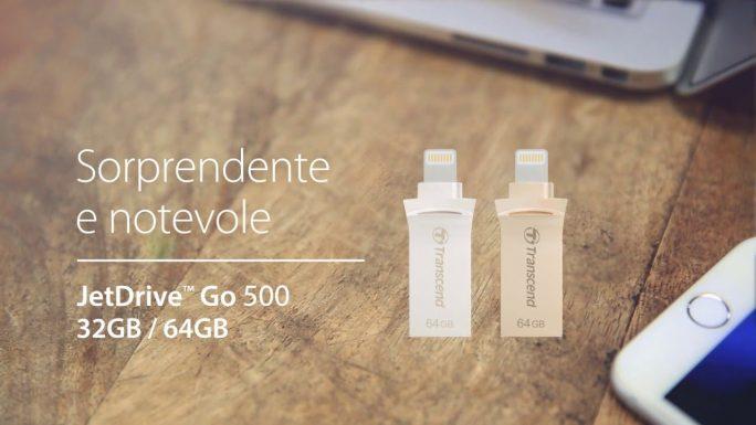 JetDrive Go Transcend-capacità