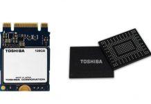 SSD Toshiba serie BG