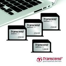 Schede di memoria SuperMLC microSD di Transcend