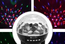 OxyLed Mini Stage Light recensione